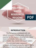 Philippine water resources regions