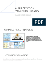 Analisis Variables Fisico Naturales