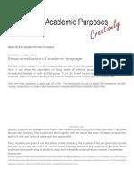 English for Academic Purposes Creatively _ De-personalisation of academic language (1).pdf