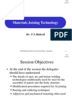 Session-18,19 Materials Joining Technology
