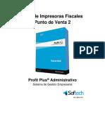 Profit Plus Guía de Impresoras Fiscales - Punto de Venta 2