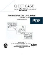 Technology and Livelihood Education Entre Module 5