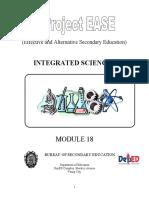 Ease Sci.i Module 18 Stars