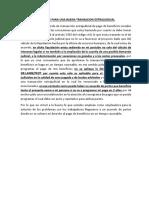 CRITERIOS PARA UNA BUENA TRANSACION EXTRAJUDICIAL.docx