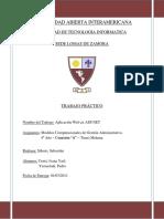 Seminario de Formación Profesional Trabajo Práctico en ASP Classic