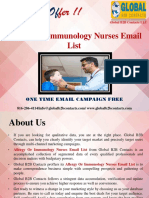 Allergy Or Immunology Nurses Email List.ppt