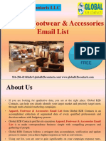 Apparel, Footwear & Accessories Email List.ppt