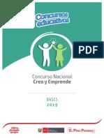 Bases Crea y Emprende 2019 Final