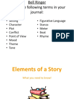 Elements of Story Writing