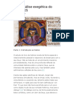 Salmo 25 - Uma análise exegética (Revista Teologia Brasileira)