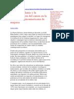 El Nuevo Milenio y La Reconstrucción Del Canon en La Literatura Latinoamericana de Mujeres