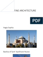 Byzantine Architecture Examples