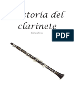 Historia Del Clarinete Sofc3ada Garcc3ada Moreno