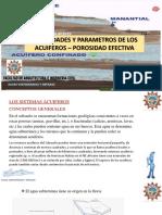 parametros de los acuiferos