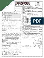 Apostila de Função até Função do 1º grau (20 páginas, 111 questões, com gabarito).pdf