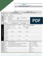 Ficha de Cadastro Para Clientes Novos