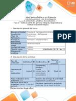 Guia de Actividades y Rubrica de Evaluación - Fase 2- Indicar Perfil Del Gerente Integral, Diagnósticar y Realizar Mapa Estratégico