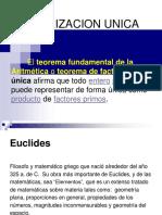 Factorizacion Unica 123