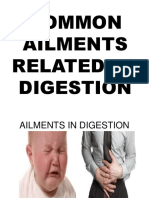 Common Ailments Related to Digestion
