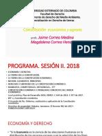 Constitución Económica y Agraria 2018 DERECHO de TIERRAS (1)