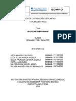 Distribución de Plantas Tercera Entrega