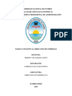 Direccion Monografía