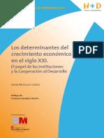 Los Determinantes Del Crecimiento Economico en El Siglo Xx1