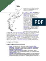 Idiomas de Chile