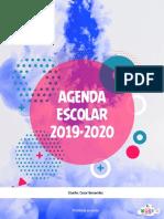 Agenda 2019-2020 Yoce εїз (•ิ_•ิ) εїз