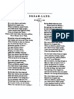 Dream Land by Edgar Allan Poe