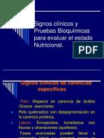 Signos Clínicos y Pruebas Bioquímicas - Tema-5 Ok