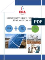 Electricity Supply Industry Performance Report 2018