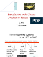 Toyota lean manufacturing