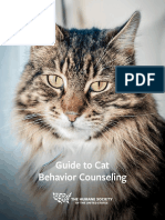 Guide to Cat Behavior Counseling