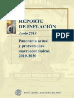 Reporte de Inflacion Junio 2019