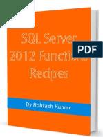 SQL Server 2012 Functions Recipes