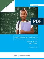 Informe Nacional Saber 569 2012 2017