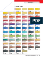 Paint Conversion Chart 20100101 pdf | Red | Green