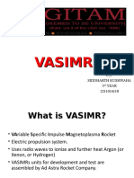 VASIMR Seminar 1 Ppt