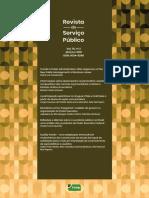 Revista Do Serviço Público