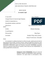 Decizia motivată în dosarul fostului ministru Iurie Chirinciuc
