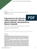 Figuraciones del silencio en el relato memorial_ Allende mi abuelo Allende, documental de Marcia Tambutti.pdf