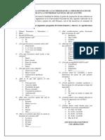 Cuestionario propuesta