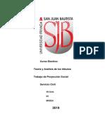 Informe de Proyección Social Módulo II Tributario
