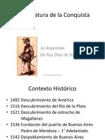 2 La Literatura de La Conquista