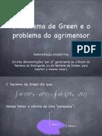 Raul Teorema Green e Agrimensura