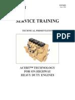Cat Service Training Acert Technology