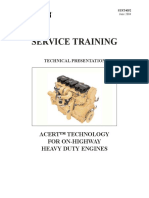 Cat Service Training Acert Technology