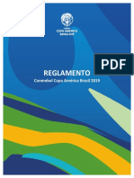 Reglamento de la Copa América 2019