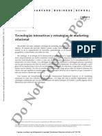 Tecnologías interactivas